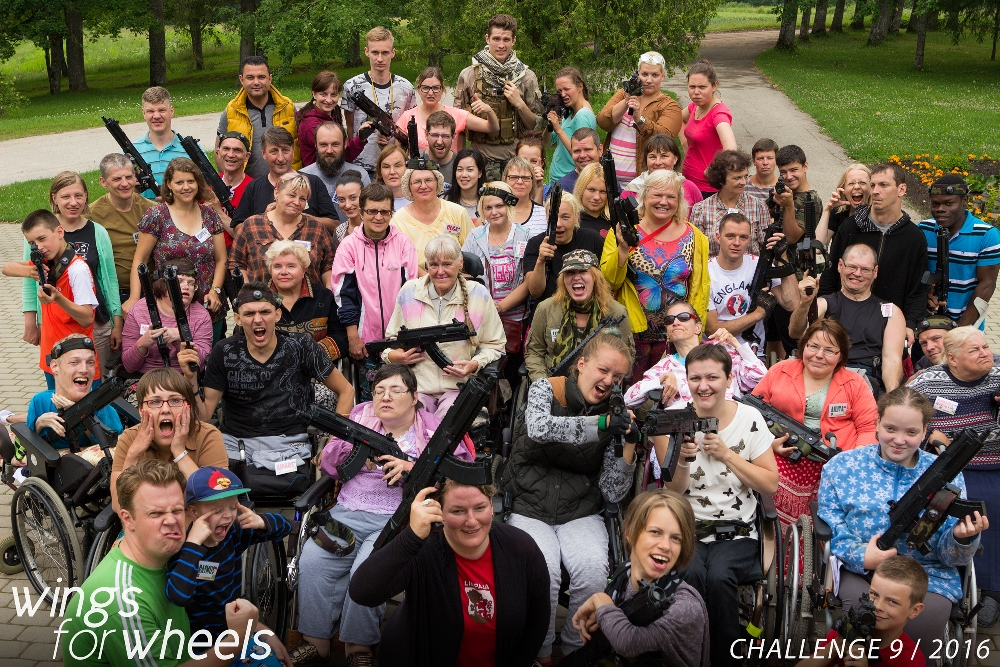 Challenge 9, 2016 group photo